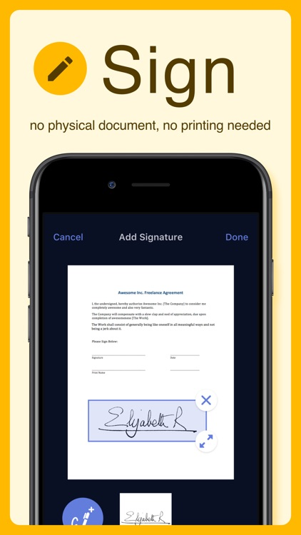 Scanner X - Document Scanning