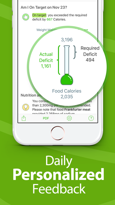 Calorie Counter - MyNetDiary Screenshot