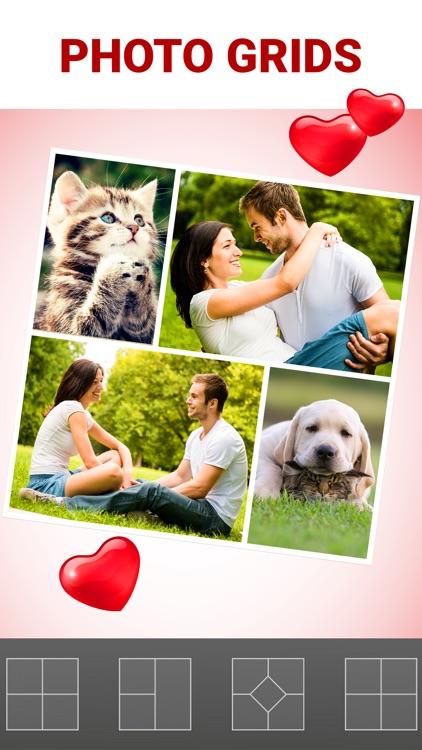 Love Collage & Photo Frames screenshot-3