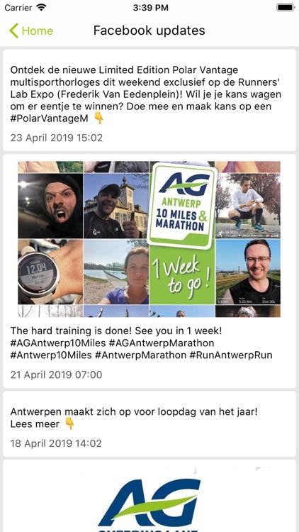 AG Antwerp 10 Miles & Marathon screenshot-3