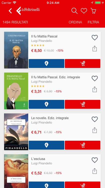 la Feltrinelli Mobile screenshot-3