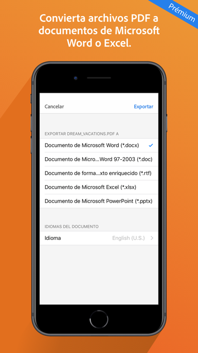 Descargar Adobe Acrobat Reader: Edit PDF para Android