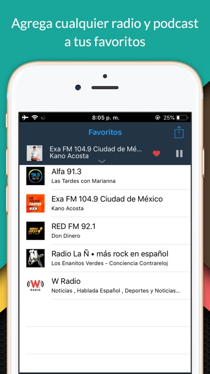 oiRadio México - Live radio screenshot-2