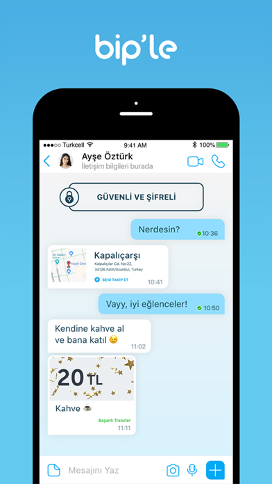 Screenshot for BiP Messenger in Turkey App Store