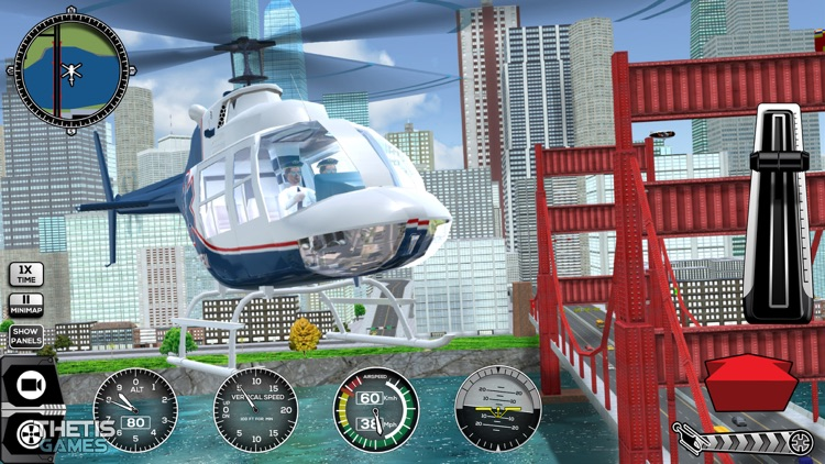 Helicopter Simulator 2017 screenshot-3