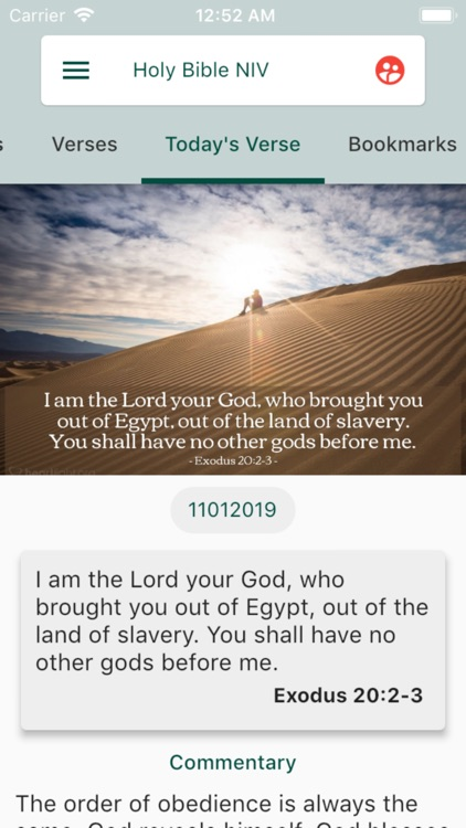 Holy Bible NIV screenshot-1