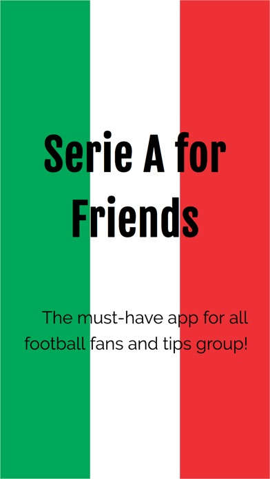 Screenshot for Serie A for Friends in United States App Store