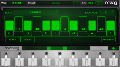 Animoog for iPhone Screenshots