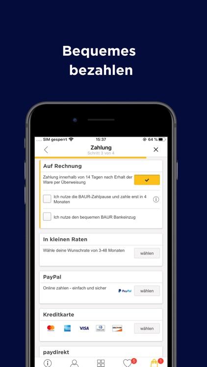 BAUR - Shopping App screenshot-3