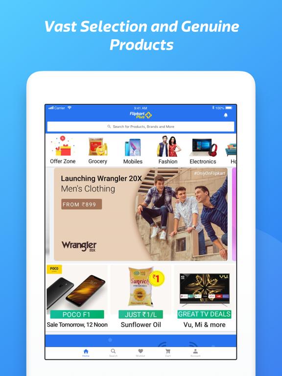Flipkart - Online Shopping App-ipad-0