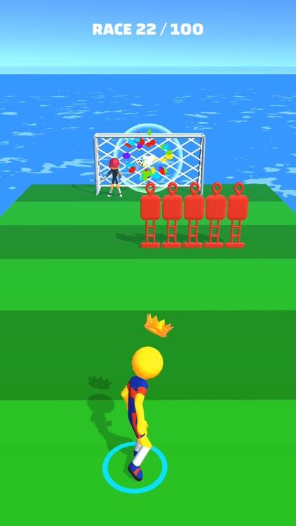 Soccer Race 3D screenshot-3