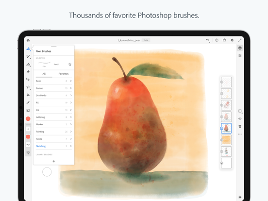 Adobe Fresco: Draw & Paint screenshot 11