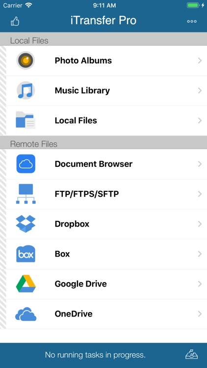 iTransfer - File Transfer Tool screenshot-0