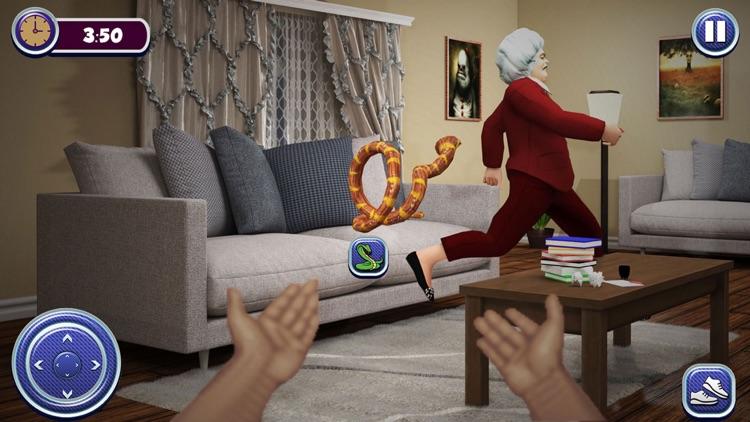 Haunted Teacher Scary 3D Games screenshot-5