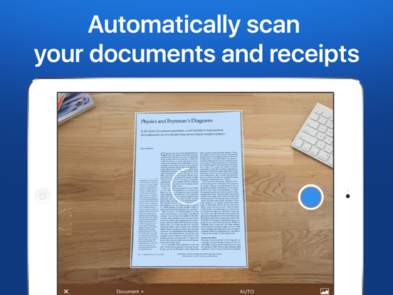 Scanner Mini - Document & receipt scanner app with OCR screenshot