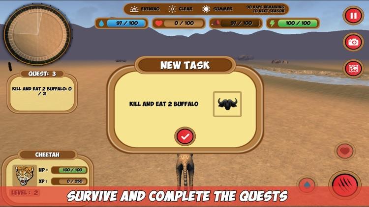 African Animals Simulator screenshot-4