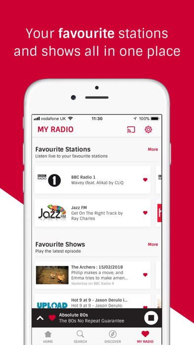 Radioplayer - UK radio is here screenshot two