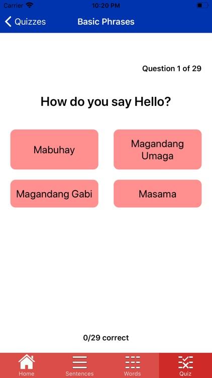 learn Filipino Easy screenshot-7