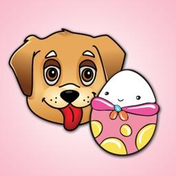 Egg Loving Dogs Emoji