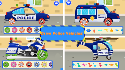 Screenshot for Kinder Polizei Auto fahren in Austria App Store