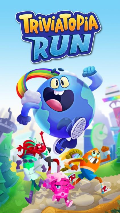 Triviatopia Run screenshot-0