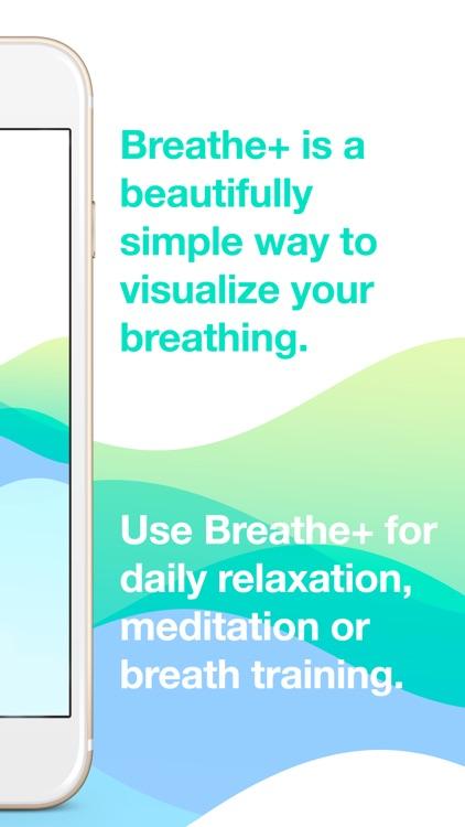 Breathe+ Simple Breath Trainer screenshot-1