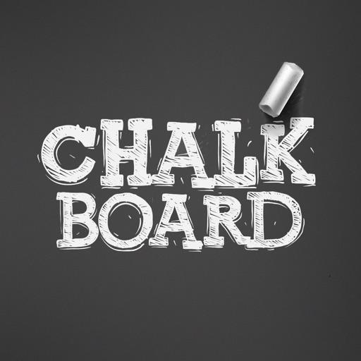 Blackboard-Chalk writing board