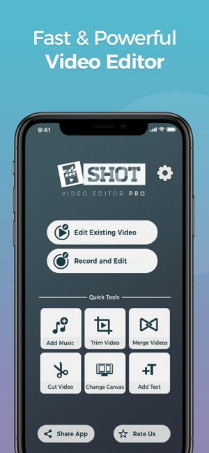 Video Editor zShot: Easy Edits on the App Store