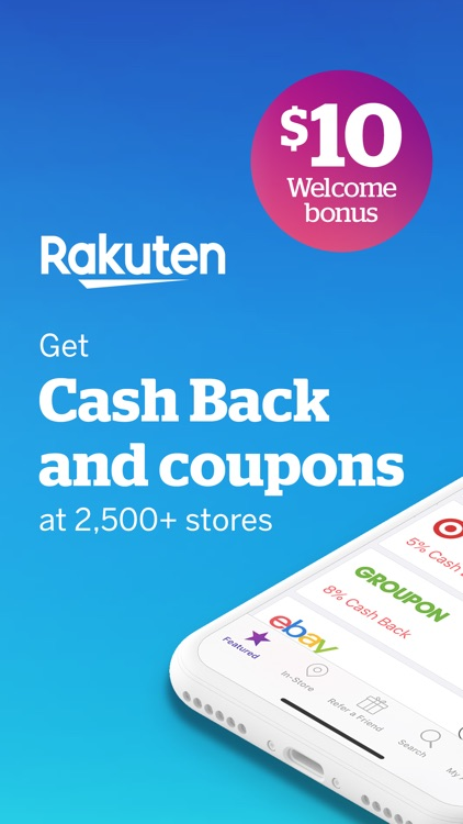 Rakuten Ebates - Cash Back App screenshot-0