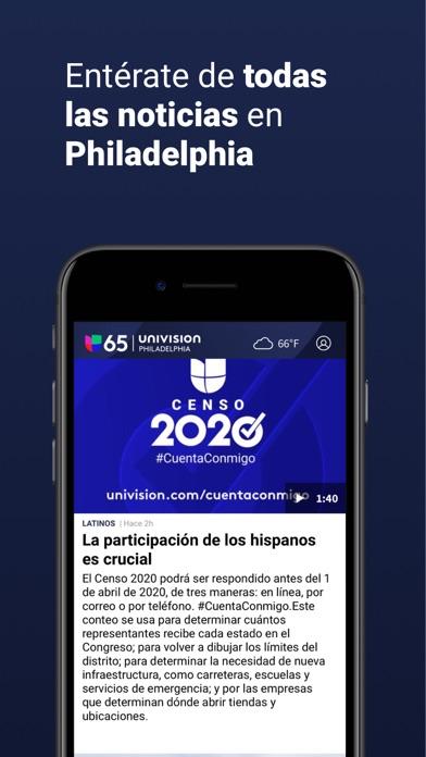 Univision 65 Philadelphia screenshot 3
