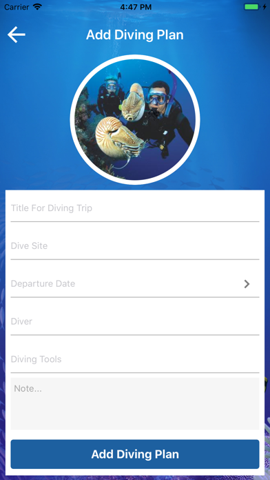 Diving Trip Manager screenshot #3
