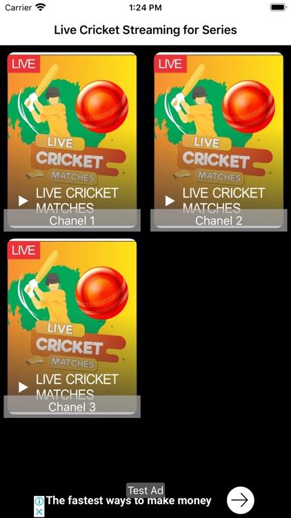 Cricket Live Streaming Online screenshot-3