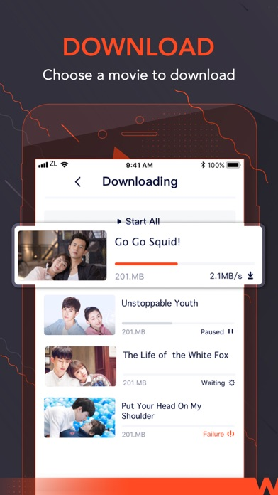 Unduh WeTV - Dramas, Films & More pada Pc