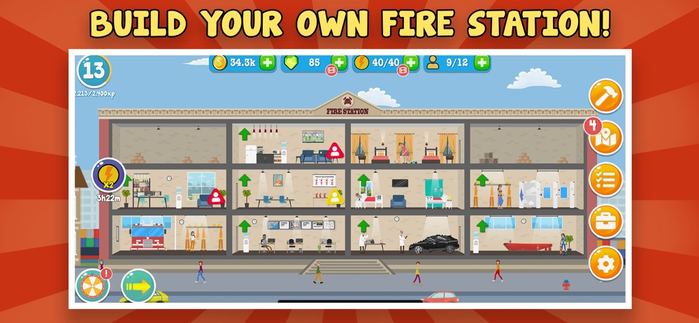 Fire Inc: Fire station builder Cheat Codes