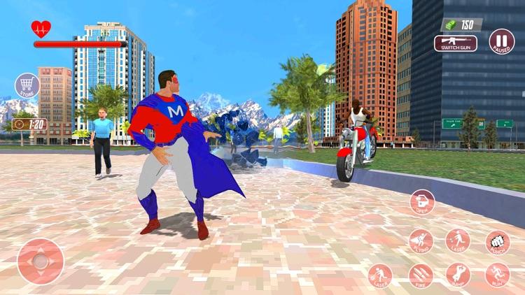Super Hero Flying Simulator 3D