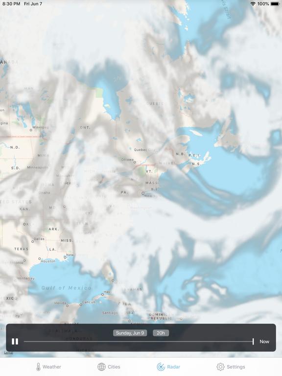 iPad Image of Weather ·