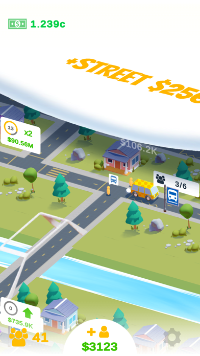 Taxi Idle - 3D Game - 窓用