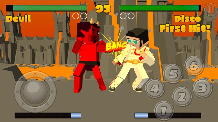 Pixel Fighting 3D screenshot-3