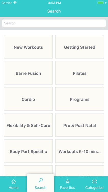 Pilates Barre On Demand