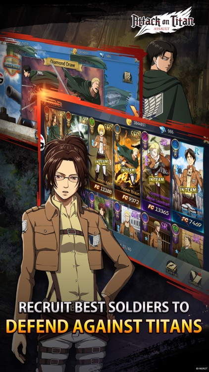Attack on Titan: Assault screenshot-3