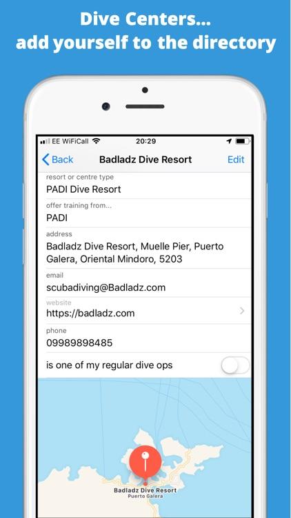 Splash Dive Log screenshot-5