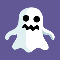 Spooky Halloween Ghost Sticker