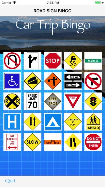 Car Trip Bingo screenshot-3