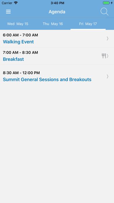 AJG Meetings screenshot four