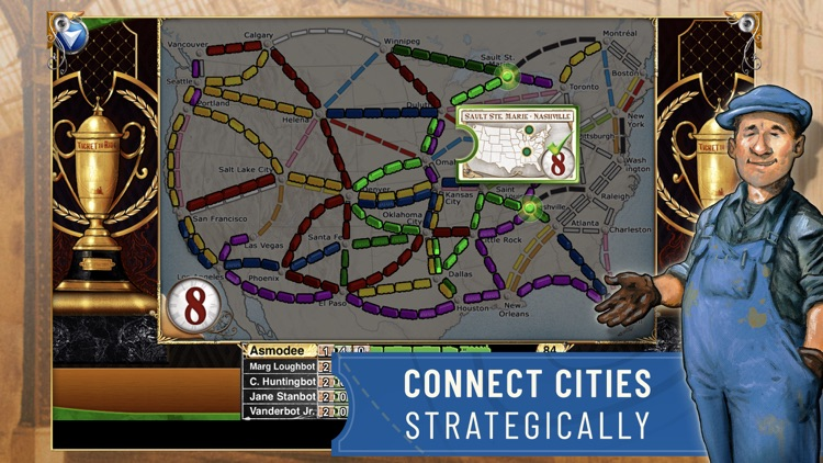 Ticket to Ride - Train Game screenshot-4