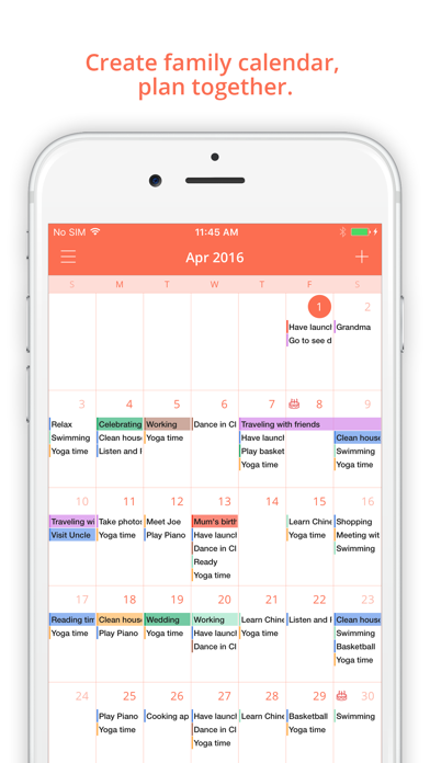 Download FamCal: Shared Family Calendar for Pc