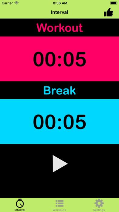 Interval Timer For Tabata Proのおすすめ画像1