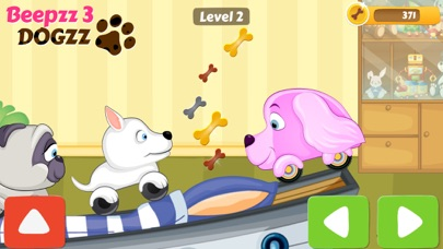 Beepzz Dogs car racing games screenshot one