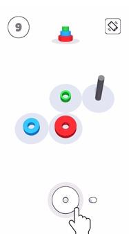 Color Circles 3D iphone images