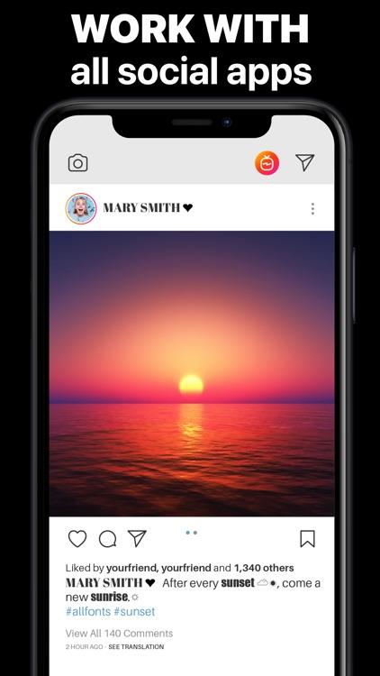All Fonts & Keyboard Apps screenshot-3